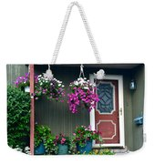 Home Sweet Home Weekender Tote Bag by Frozen in Time Fine Art Photography