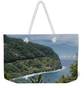 Honomanu - Highway To Heaven - Road To Hana Maui Hawaii Weekender Tote Bag