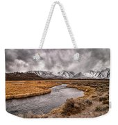 Hot Creek Weekender Tote Bag by Cat Connor