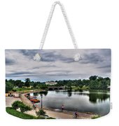 Hoyt Lake Delaware Park 0004 Weekender Tote Bag