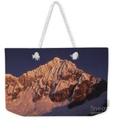 Mt Huandoy Sunrise Peru Weekender Tote Bag