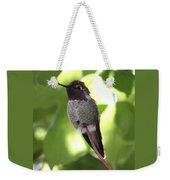 Hummingbird Hangout Weekender Tote Bag