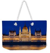 Hungarian Parliament In Budapest Weekender Tote Bag