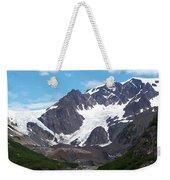 Ice And Snow Weekender Tote Bag