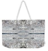 Ice Storm Abstract Weekender Tote Bag