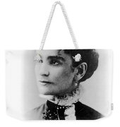 Ida Mckinley (1847-1907) Weekender Tote Bag