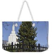 Idaho Falls Temple Weekender Tote Bag