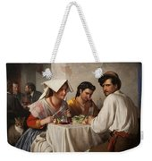 In A Roman Osteria Weekender Tote Bag