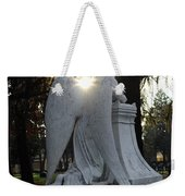 In The Shadow Of His Light Weekender Tote Bag