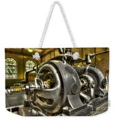 In The Ship-lift Engine Room Weekender Tote Bag by Heiko Koehrer-Wagner