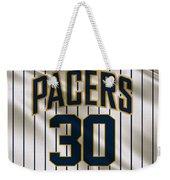 Indiana Pacers Uniform Weekender Tote Bag