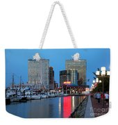 Inner Harbor Weekender Tote Bag