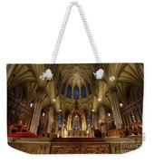 Inside St Patricks Cathedral New York City Weekender Tote Bag