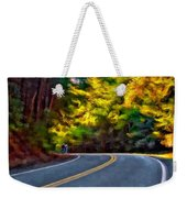 Into The Sunset Watercolor Weekender Tote Bag