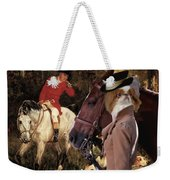Japanese Chin Art Canvas Print Weekender Tote Bag