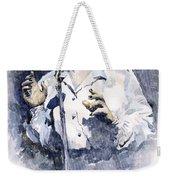 Jazz Billie Holiday Lady Sings The Blues  Weekender Tote Bag