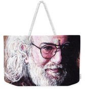 Jerry Garcia Weekender Tote Bag by Tom Roderick