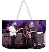 Guitarists Jimmie Vaughan And Duke Robbilard Weekender Tote Bag