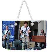 John Mayer And Robbie Mcintosh  Taste Of Chicago Weekender Tote Bag