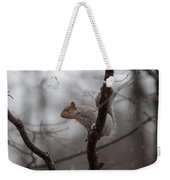 Jumping Squirrel Weekender Tote Bag