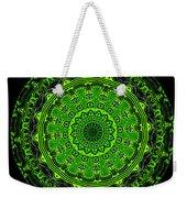 Kaleidoscope Of Glowing Circuit Board Weekender Tote Bag