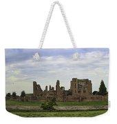 Kenilworth Castle Panorama Weekender Tote Bag