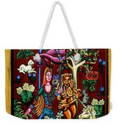 Lady Lion And Unicorn Weekender Tote Bag