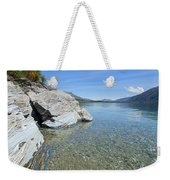 Lake Shore Weekender Tote Bag