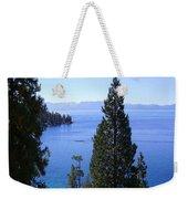 Lake Tahoe 4 Weekender Tote Bag