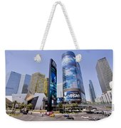 Las Vegas Strip Weekender Tote Bag