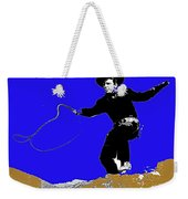 Lash Larue Bull Whip Publicity Photo Weekender Tote Bag