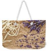 Lavender Flowers And Seeds Weekender Tote Bag