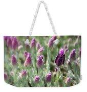 Lavender Standout Weekender Tote Bag by Carol Groenen