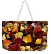 Leaves Of Autumn Weekender Tote Bag