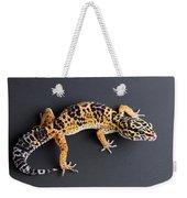 Leopard Gecko Eublepharis Macularius Weekender Tote Bag