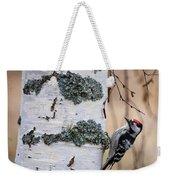 Lesser Spotted Woodpecker Weekender Tote Bag
