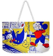 Lichtenstein's Look Mickey Weekender Tote Bag