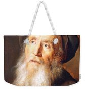 Lievens' Bearded Man With A Beret Weekender Tote Bag