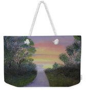 Light At The Other End Weekender Tote Bag