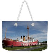 Light Vessel Overfalls Weekender Tote Bag