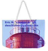 Lighthouse At Cape May Weekender Tote Bag