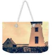 Lighthouse Prince Edward Island Weekender Tote Bag by Edward Fielding