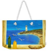 Lighthouse View Weekender Tote Bag