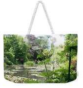 Lily Pond In Monets Garden Weekender Tote Bag