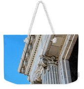 Lincoln County Courthouse Columns Looking Up 02 Weekender Tote Bag