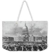 Lincoln Inauguration, 1865 Weekender Tote Bag