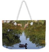 Living In Reflections Weekender Tote Bag