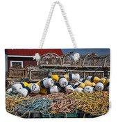 Lobster Fishing Weekender Tote Bag by Elena Elisseeva