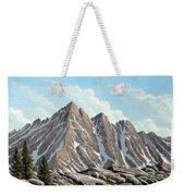 Lofty Peaks Weekender Tote Bag
