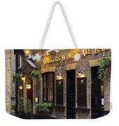 London Pub Weekender Tote Bag